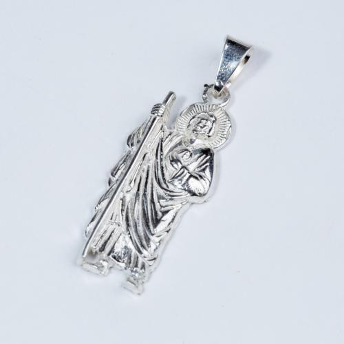 Dije San Judas Tadeo 3 5cm La Silver
